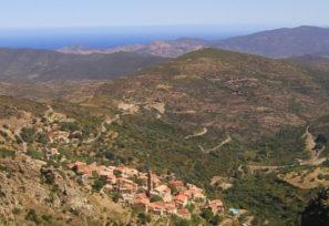 Carte Corse Urtaca.Village D Urtaca Balagne Corse Paese D Urtaca Balagna Corsica