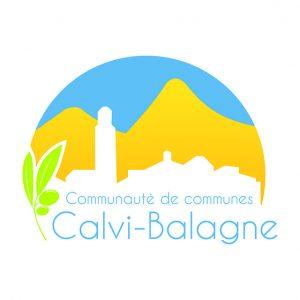 logo communauté de communes Calvi - Balagne Corsica